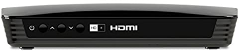 TechniSat Eurotech 2 HD+ Satelliten Receiver (DVB-S2, inkl. HD+ Karte) schwarz