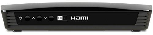 TechniSat EUROTECH 2 HD+ HD Sat-Receiver mit integriertem HD+ Entschlüsselungssystem, inkl. HD+ Smartcard, schwarz