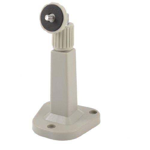 sourcing map ellgrauem Kunststoff Trapez Sockels Wandmontage Standhalter für CCTV-Kamera de