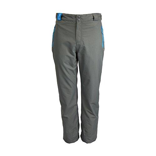 NEW Men's Waterproof Trousers Wind Proof Fleece Lined Climbing Pants Walking Hiking Ski Golf, Skovva - Storm