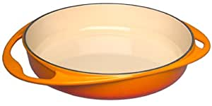 Le Creuset Cast Iron Tatin Dish, 25 cm - Volcanic
