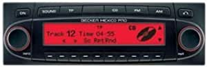 Becker grand prix 7992 autoradio-lecteur cD/mP3, tuner fM/aM bluetooth rouge