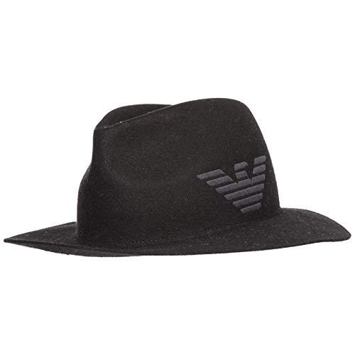 Emporio Armani Herren - Hut Nero 58 cm Emporio Armani Hüte