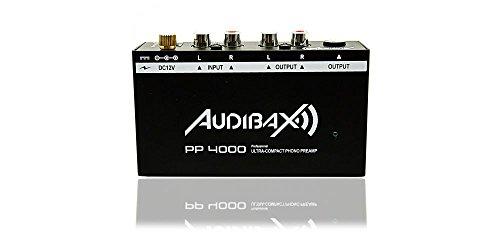 Foto de Audibax PP4000 Previo Phono RIAA. Interruptor ON/OFF
