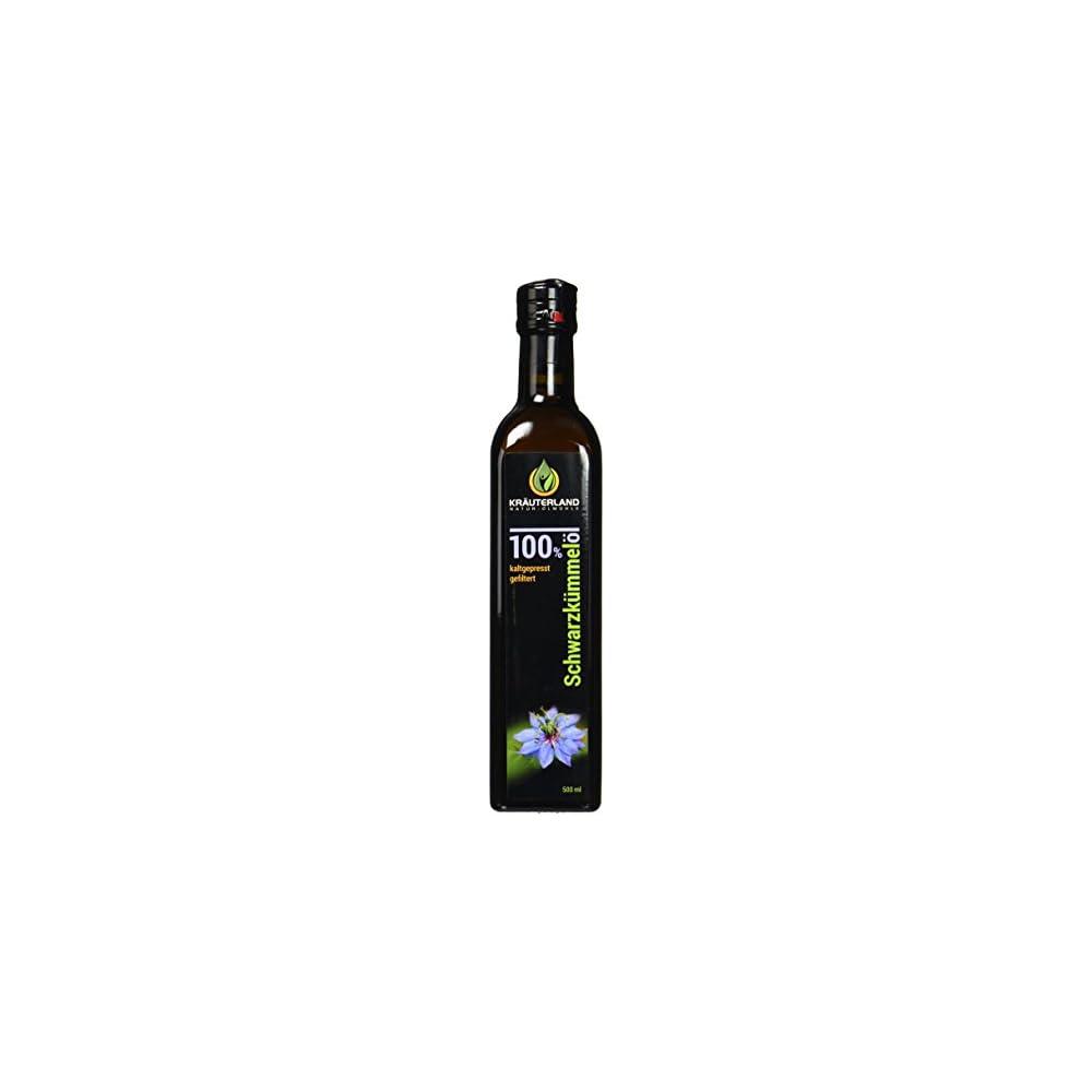 Kruterland Natur Lmhle Gyptisches Schwarzkmmell Gefiltert Milder Geschmack 500 Ml