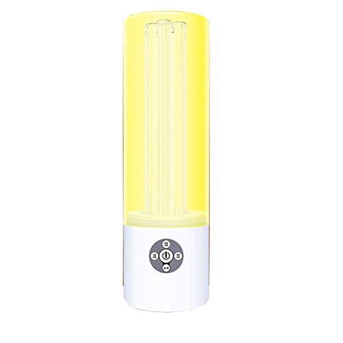 Tragbare Uv-Desinfektionslampe FüR Den Haushalt, KeimtöTende Lampe Mit Ozon-Uv-Lampe Und Xenon-Lampen-Fernbedienung, 55w -