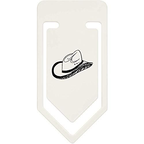 Azeeda 91mm 'Cowboy-Hut' Große Plastik Büroklammer (CC00039629)