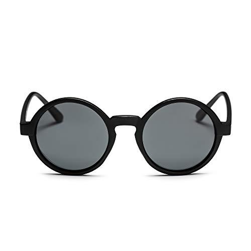 CHPO Unisex-Erwachsene Sam Sonnenbrille, Schwarz Black, 46
