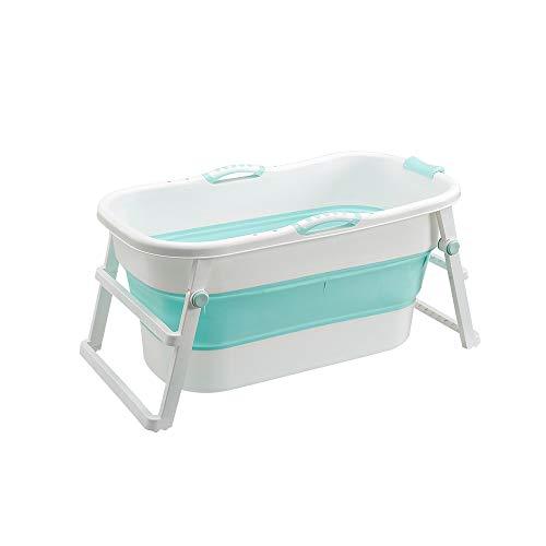 HUACANG Plegable Bañera Adulto Bebé Universal Material Plastico PP Cubo De Baño...