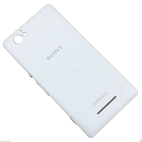 eShop24x7 White Replacement Battery Door Panel Housing Back Cover Case with NFC for Sony Xperia M / C1904 / C1905 / C2004 / C2005