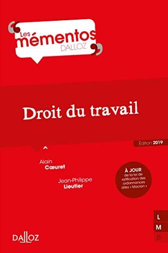 Droit du travail - Nouveauté par Alain Coeuret