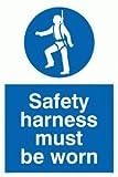 Viking Schilder mp298-a6p-pv Sicherheit Geschirr zu tragen, Sign, Foto Leuchtziffern Aufkleber, 150Mm H x 100mm W
