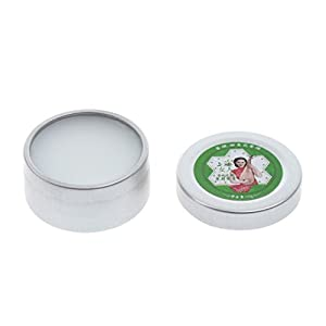 Homyl Feste Duftbalsam Parfüm Creme, Größe: Ca. 4 x 4 x 3,5 cm/1,6 x 1,6 x 1,4 Zoll