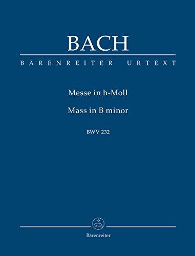 Messe en si mineur BWV232 (Nouvelle édition) --- Conducteur Poche
