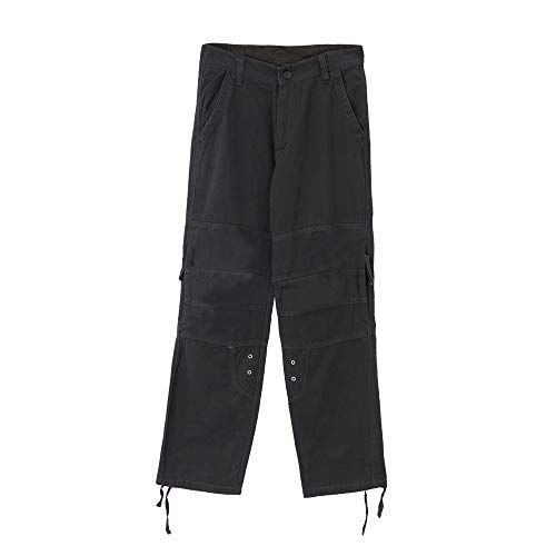 Herren Cargohose Slim Fit UFODB Männer Hose Cargo Jogging Pants Cargo-Jeans Cuffed Jogger Chino Jeans Stretch Freitzeithose Hosen Lang Freizeithose Stoffhose