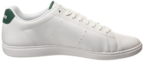 Le Coq Sportif Courtone S, Baskets Basses Homme Blanc (Optical White/Evergr)