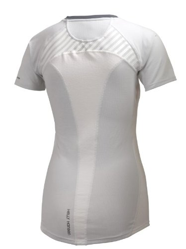 Helly Hansen Damen Funktionsshirt PACE Shortsleeve Blanco (White)