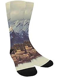 shengpeng Most Fashion Maker Outer Space Galaxy Stary Women & Men Knee High Socks Baseball Athletic Tube Long Stockings Calze