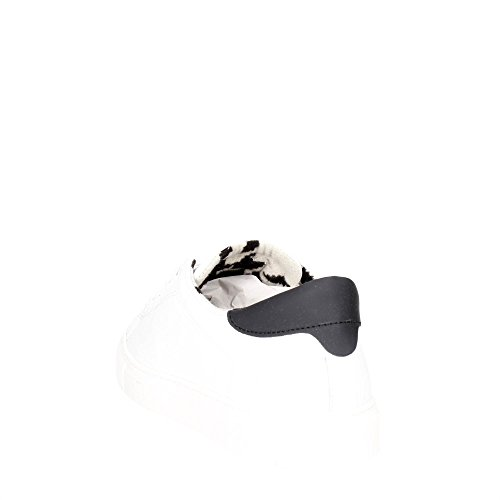 D.A.T.E. ACE-55I Petite Sneakers Homme Blanc