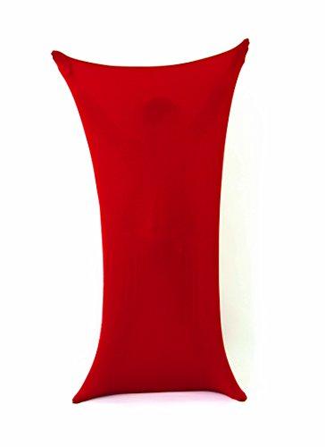 öße XL - ab 12 Jahre - dehnbarer und luftdurchlässiger Stoff - besonders Hautverträglich - Tanzanzug - in Rot ()
