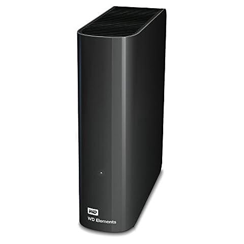 Western Digital 3TB Elements Desktop externe Festplatte USB3.0 -WDBWLG0030HBK-EESN - Guida Esterno