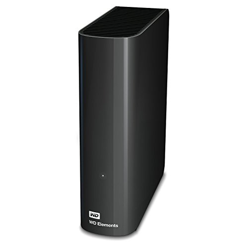 WD Elements - Disco duro externo de sobremesa de 3 TB (5400 rpm, 3.5), color negro