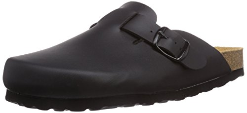 Lico Unisex-Erwachsene BIOLINE CLOG Pantoffeln, SCHWARZ), 38 EU