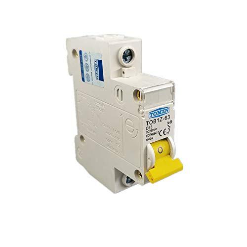 Leistungsschalter 1P Dc 250VLeistungsschalter Mcb C-Kurve Einpolige Gleichstromsicherung Für Pv -