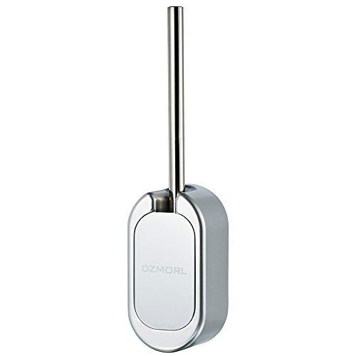 Moda set scopino sospeso saloves porta scopino in acciaio inossidabile + abs per wc bagno argento