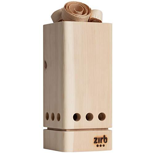 Raumlüfter zirb.Lüfterl | Räume bis 10 m² | Zirbe verbessert Schlafqualität, Regeneration | Luftreiniger | Raumduft