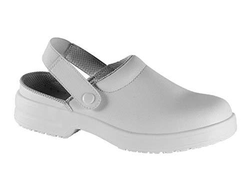 Safe Way Berufsclog 00A701 weiß rutschhemmend ohne Schutzkappe (36)