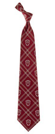 Indiana Hoosiers Woven Polyester 2 Adult Tie FROM Eagles Wings by Eagles Wings Woven Polyester 2 Tie