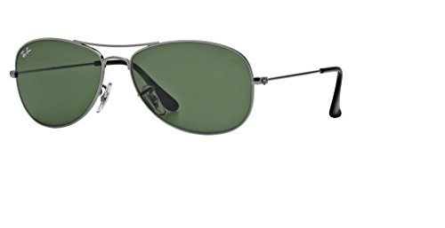 Ray Ban RB3362 004 56M Gunmetal/Crystal Green