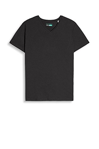 ESPRIT Herren T-Shirt 997EE2K821, Schwarz (Black 001), XX-Large - 3