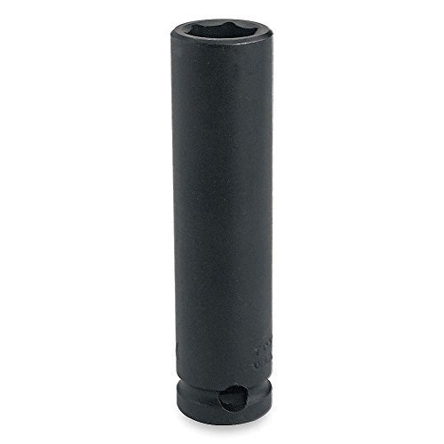 Impact Socket, Deep, 3/8Dr, 3/8In, 6Pt by Proto -