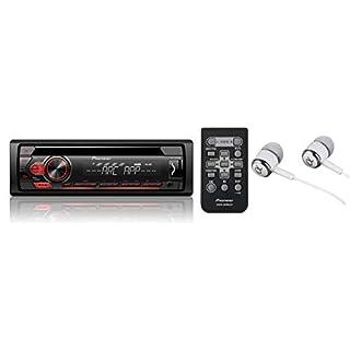 Pioneer DEH-150MP CD-Tuner (Direkt Front AUX-IN, 4x 50 Watt, Displaybeleuchtung weiß, Tastaturbeleuchtung rot)