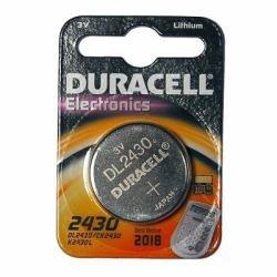 DURACELL Lot de 2 Blisters de 1 Pile bouton lithium