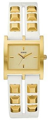 Guess W85090L1 - Reloj para mujeres, correa de acero inoxidable color dorado de Guess