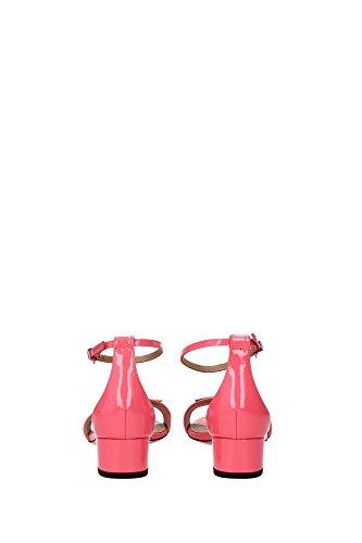 HEDWIGE6276204844 Bally Sandale Femme Cuir Verni Rose Rose