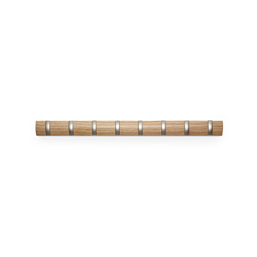 umbra-flip-wood-wall-mounted-hook-system-with-8-hooks-natural