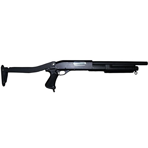 Airsoft Fusil à pompe M870 Cyma Crosse pliable Version Métal (0.5 joules)