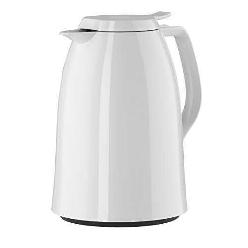 Emsa Isolierkanne, Kunststoff, Weiß, 1 Liter