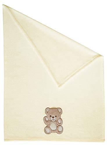 Zollner coperta per bambini in pile, crema, 75x100 cm, in altri colori