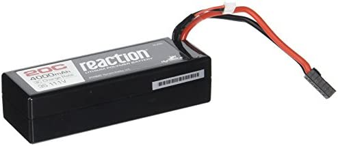 Dynamite 9002T Reaction 11.1V 4000mAh 3S 20C LiPo Hard Case: TRA by Dynamite | La Qualité