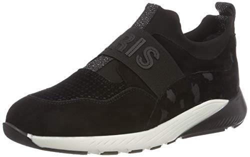 Maripe Damen 27504 Slip On Sneaker Schwarz (Camoscio Nero 3) 40 EU