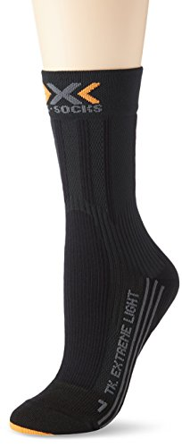 X-socks trekking extreme light calze, donna, nero, 39/40