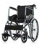 Mede Move SLN Premium basic wheel chair foldable with break system (Black)