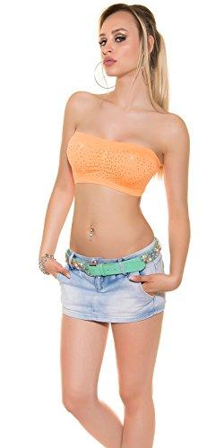 Amoresia - Bustino -  donna Orange