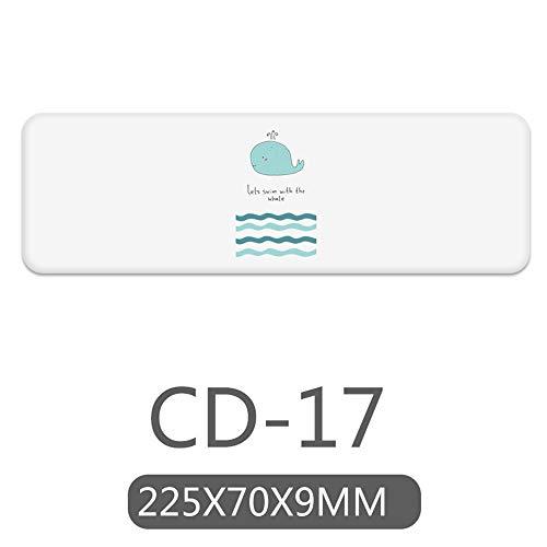 ZCHPDD Kieselalgenschlamm Waschbecken Tasse Matte Praktische Wasser Achterbahn Cd-17 22,5 * 7Cm * 2St -