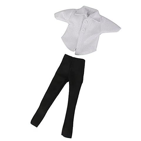 Vêtement Costume T-shirt + Pantalon Pour Ken Prince Poupée Doll